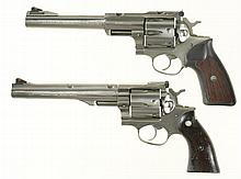 Two Ruger Double Action Revolvers -A) Ruger Model Super Redhawk Revolver