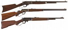 Three Lever Action Long Guns -A) Stevens Model 425 High Power Rifle