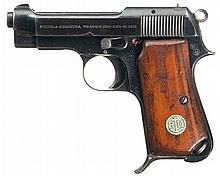 Rare Transitional Beretta Model 1932 Semi-Automatic Pistol with Italian Navy Markings, as Documented in