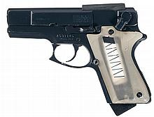 Scarce Smith & Wesson 39-2 ASP/Armament Systems & Procedures Semi-Automatic Pistol with Shoulder Rig, Two Extra Magazines and Manual