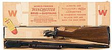 Excellent Rare and Desirable Winchester Model 62A Gallery Slide Action Rifle with Original Box