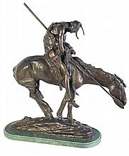 Bronze Casting of The End of the Trail by James Earle Frasier