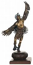 One With The Spirit Native American Bronze
