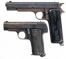 Collector's Lot of Two Spanish Semi-Automatic Pistols -A) M. Zulaica Royal Semi-Automatic Pistol
