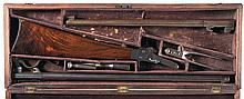 Cased Unique Cartridge Conversion Maynard First Model Rifle with Additional Barrel and Accessories