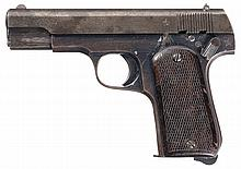Extremely Rare Chinese Sugiura Shiki Semi-Automatic Pistol with Matching Magazine