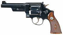 Smith & Wesson Registered .357 Magnum Revolver with Factory Letter
