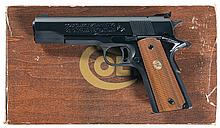 Colt MK IV Series 70 Gold Cup National Match Semi Automatic Pistol with Box