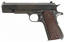 British Proofed U.S. Colt Model 1911A1 Semi-Automatic Pistol with Holster