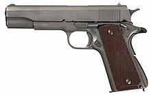 U.S. Army Colt Model 1911A1 Semi-Automatic Pistol with Extra Magazines