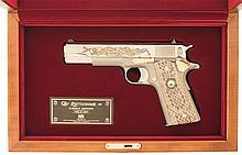 Cased Colt Rattlesnake Legacy Edition Commemorative Model 1911A1 Semi-Automatic Pistol