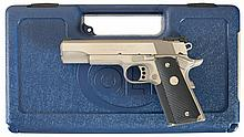 Colt Gold Cup Trophy Model Semi-Automatic Pistol with Case