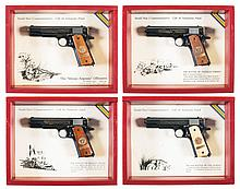 Collector's Lot of Four Matching Serial Number Cased World War I Commemorative Colt 1911 Semi-Automatic Pistols -A) Colt WWI Commemorative Model 1911
