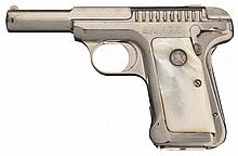 Rare Savage Arms Model 1915 Semi-Automatic Pistol with Pearl Grips