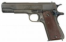 U.S. Colt Model 1911A1 Semi-Automatic Pistol with Holster
