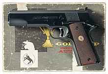 Colt Pre-Series 70 Gold Cup National Match Semi-Automatic Pistol with Box