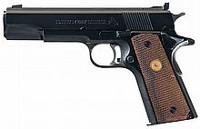 Colt Pre-Series 70 Gold National Match Semi-Automatic Pistol