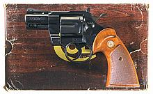 Desirable 2 1/2 Inch Barrel Colt Python Double Action Revolver with Box