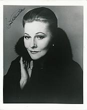 Joan Fontaine Autographed Photograph