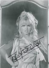 Brigitte Bardot Autographed Photograph