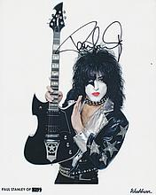 Paul Stanley KISS Autographed Photograph