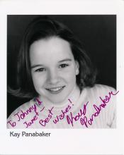Kay Panabaker Autographed Photograph