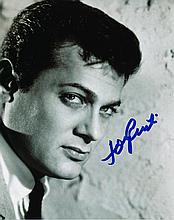 Tony Curtis Autographed Photograph