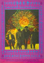 Siegel-Schwall Band 1967 'FD 70 Family Dog' Concert Poster