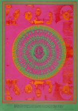 Quicksilver Messenger Service 1967 'FD 53 Family Dog' Concert Poster