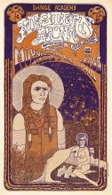 Morning Glory & Indian Head Band 1967 Western Front Concert Poster