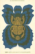 Love 1968 Bill Graham Fillmore Concert Poster