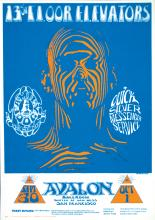 13th Floor Elevators 1966 'FD 28 Family Dog' Concert Poster