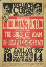 The Blues Project 1966 'FD 8 Family Dog' Concert Poster