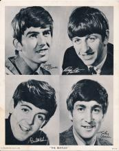 The Beatles 1964 Original Mail-In Order Photograph