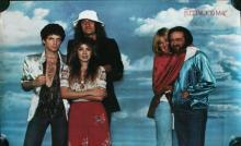 Fleetwood Mac Rare 'Rumours' Promotional Poster