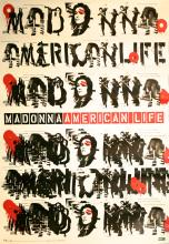 Madonna Rare 'American Life' Promotional Poster