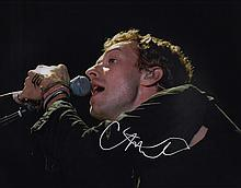 Chris Martin 'Coldplay' Autographed Photograph