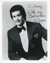 Wayne Newton 'Mr Vegas' Autographed Publicity Photograph