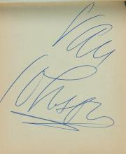 Van Johnson 'A Guy Named Joe' Autograph