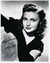 Joan Leslie 'Yankee Doodle Dandy' Autographed Photograph