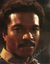 Billy Dee Williams 'Star Wars' Autographed Photograph