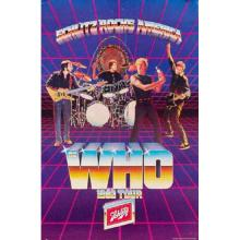 The Who 1982 'Schlitz Rocks America' Concert Poster