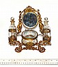 Victorian Brass Vanity Set