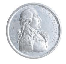 George Washington 1789 Twigg Medal