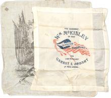 Wm. McKinley Two 1896 Textiles