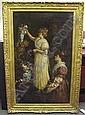 Charles L. Muller (1815-1892 Fr) Scene of two