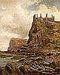 Albert Dunnington - DUNLUCE CASTLE, ANTRIM COAST,