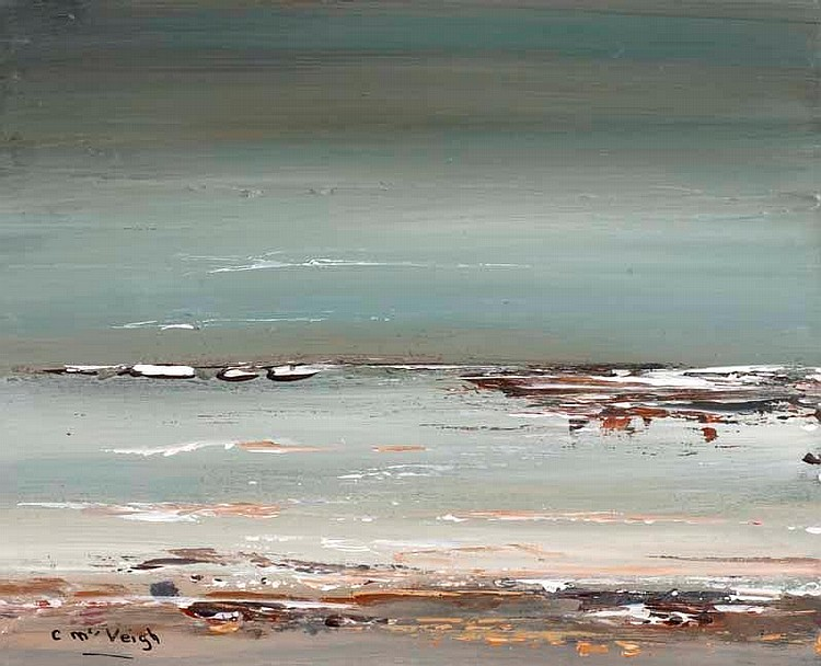 Caroline McVeigh - HAZY MORNING - Oil on Canvas -