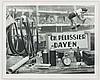 BRASSAI (Guyla Halasz, dit) (1899-1984) Nature morte à la Course cycliste des Six Jours de Paris au Vélodrome d'Hiver, Paris, ca. 1932. Tirage argentique postérieur. Image: 21,1x27,4cm - Feuille: