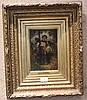 BARON Henri (1816?-1885)   Chinoiserie   Huile sur paneau, signé en bas à droite.   Haut.?: 22,5 - Larg.?: 15,5?cm.